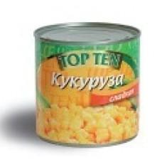 "Кукуруза сладкая  TM ""TOP TEN"""